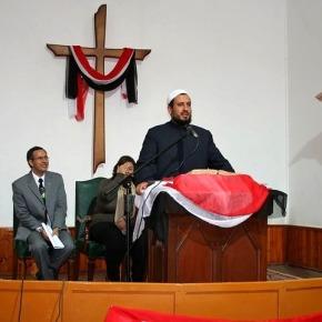 Kerkdienst voor moslims enchristenen