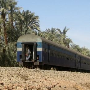 De stoomtrein van Cairo als roepstem vanGod