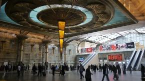 Vernieuwd treinstation Cairo