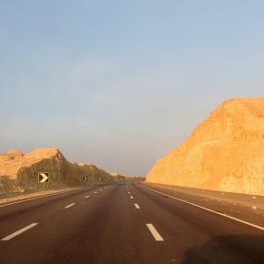 Woestijnweg