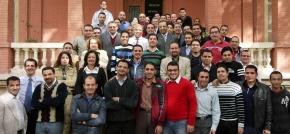 Groepsfoto seminarie