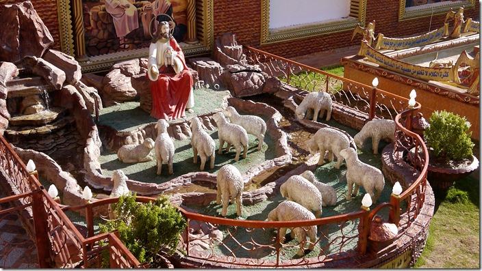 Good Shepherd | Church of St. Karas, Sohag, Egypt (c) willemjdewit P1420863