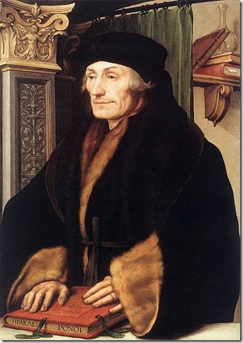 Erasmus by Holbein wikipedia