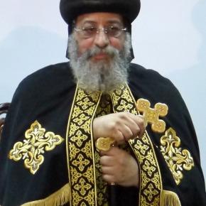 Tweet van paus TawadrosII