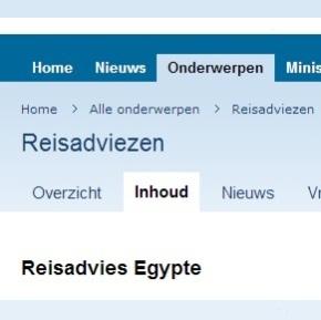 Reisadvies voor Egypte