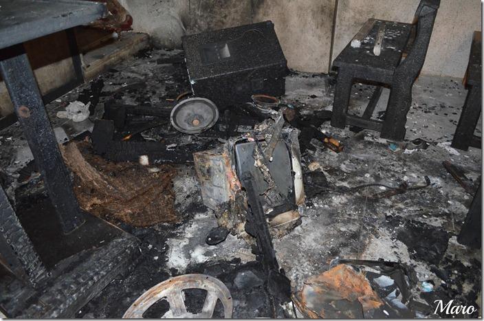 Gad al-Sayed church burnt Abou Hilal Minya 2