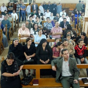 Presbyteriaanse kerk in Egyptische stad Mallawi invlammen