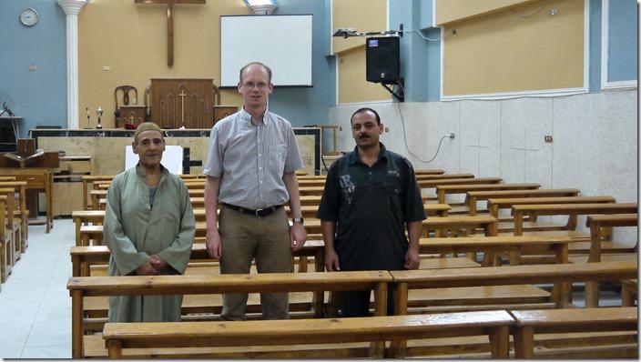 P1300273 Gad al-Sayed, presbyteriaanse kerk, evangelical presbyterian church, Abou Hilal, Minya, (c) willemjdewit