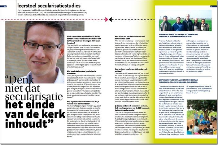 Secularisatie x GZB Alle Volken november 2013
