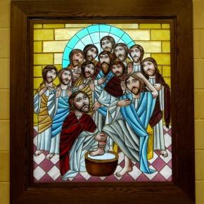 Bekijk de nieuwe kapelramen van het Evangelical Theological Seminary inCairo