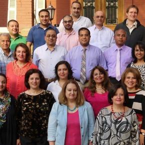 Voltijddocenten en medewerkers Evangelical Theological Seminary inCairo