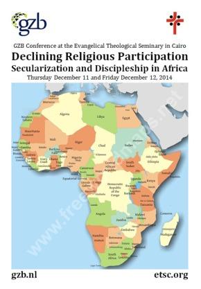 GZB conferentie in Caïro: Secularisatie en discipelschap inAfrika