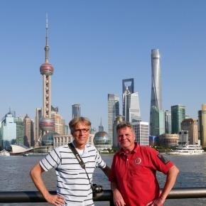 De wereldstad Shanghai