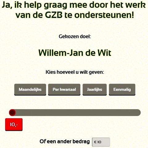 GZB doneren voor werk Willem-Jan de Wit - Copy