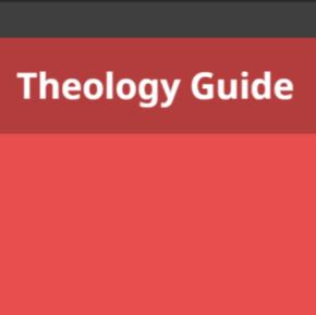 Theology Guide: tijdschriften, boeken, video's enmeer