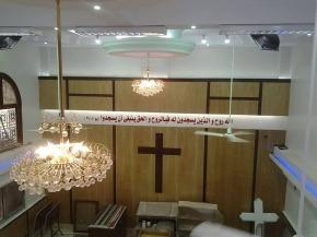 Vernieuwing uitgebrande kerk inMinya