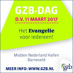 GZB-dag 11 maart 2017: Het Evangelie vooriedereen