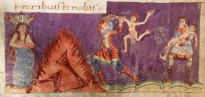 Psalm 137 in het Stuttgarter Psalter
