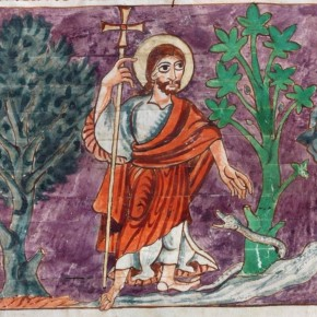 Psalm 23: woestijn, zalfolie entegenpartijders