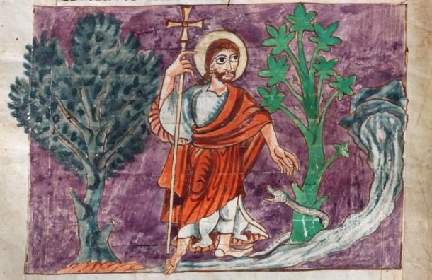 Psalm 23 Stuttgarter Psalter (2)