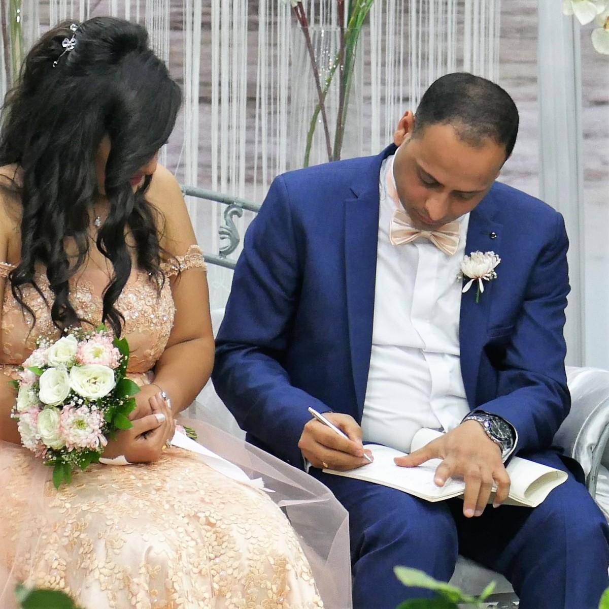 Verloving Ibrahim en Christine