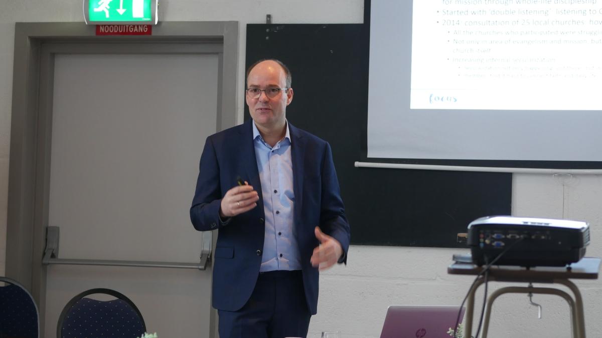 De dominees leren van Jan-Maarten Goedhart over het IZB Focus-programma