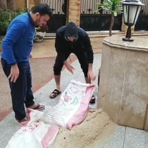 Noodweer in Egypte
